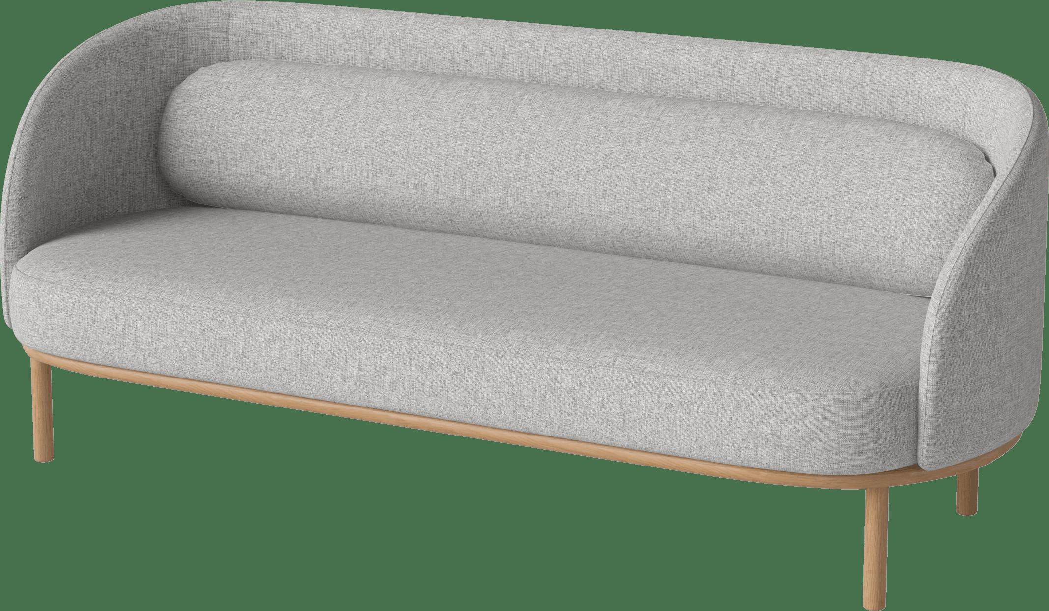 bolia grey fuuga 3 seater sofa haute living