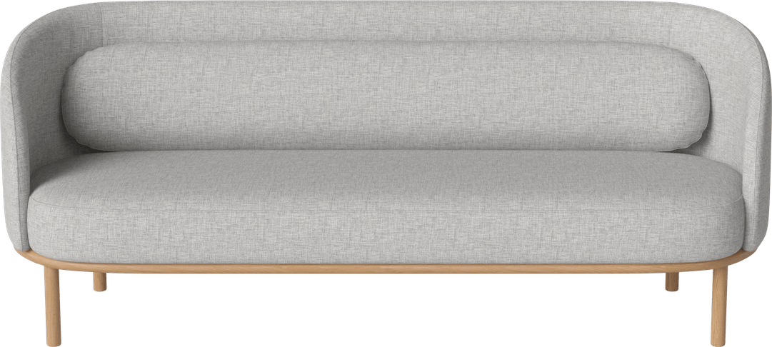 bolia 3 seater grey fuuga sofa haute living