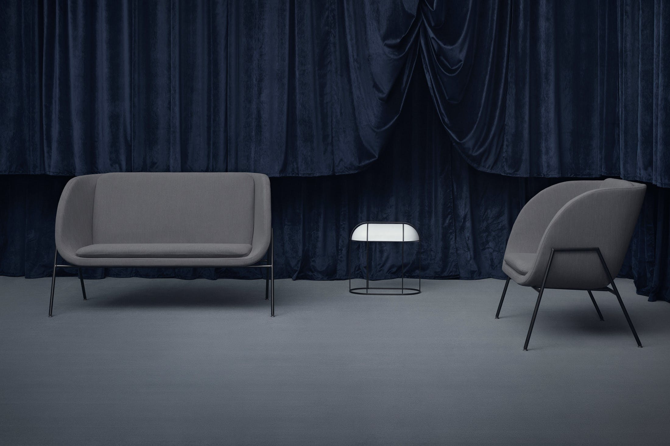 Bolia Grey Gala Collection Insitu Haute Living
