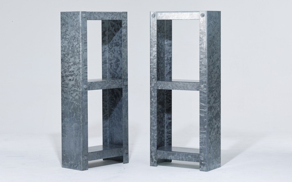 Galvanized Shelving Units5