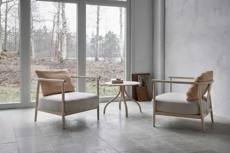 Gemla humble armchair natural insitu haute living