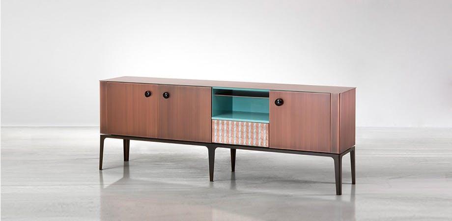 De Castelli Gioiello Lacquered Wood Angle Haute Living