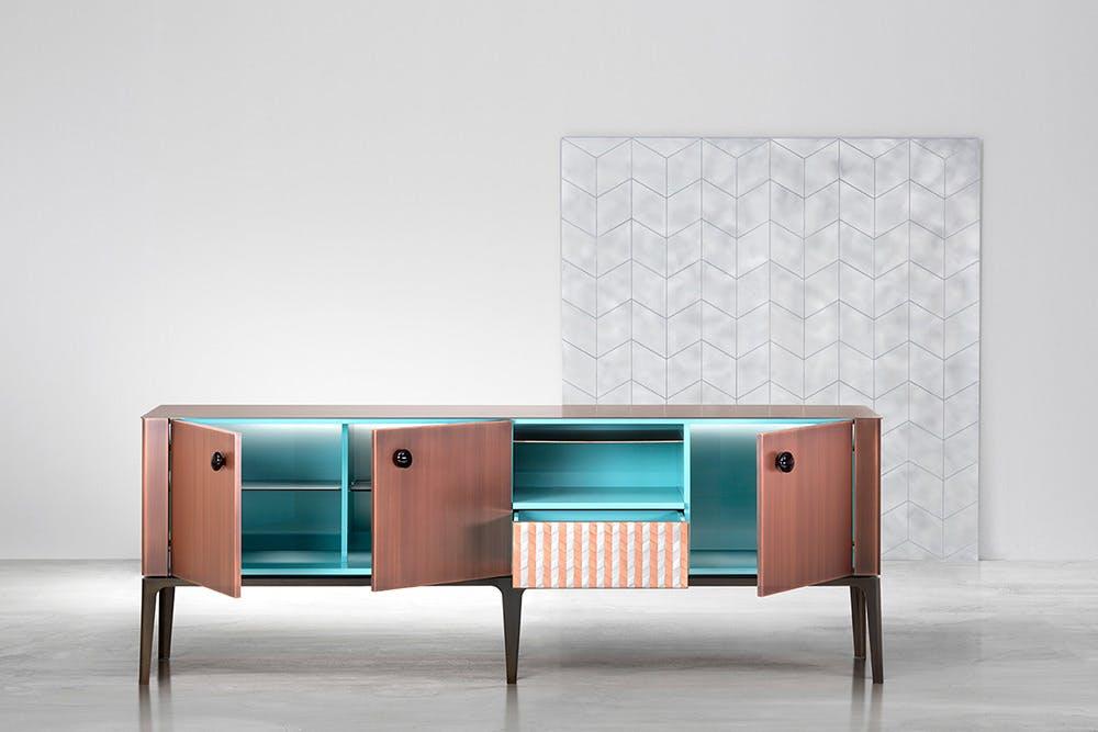 De Castelli Gioiello Lacquered Wood Open Haute Living