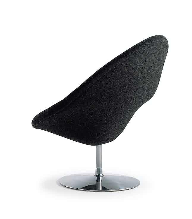 Artifort Black Globe Chair Back