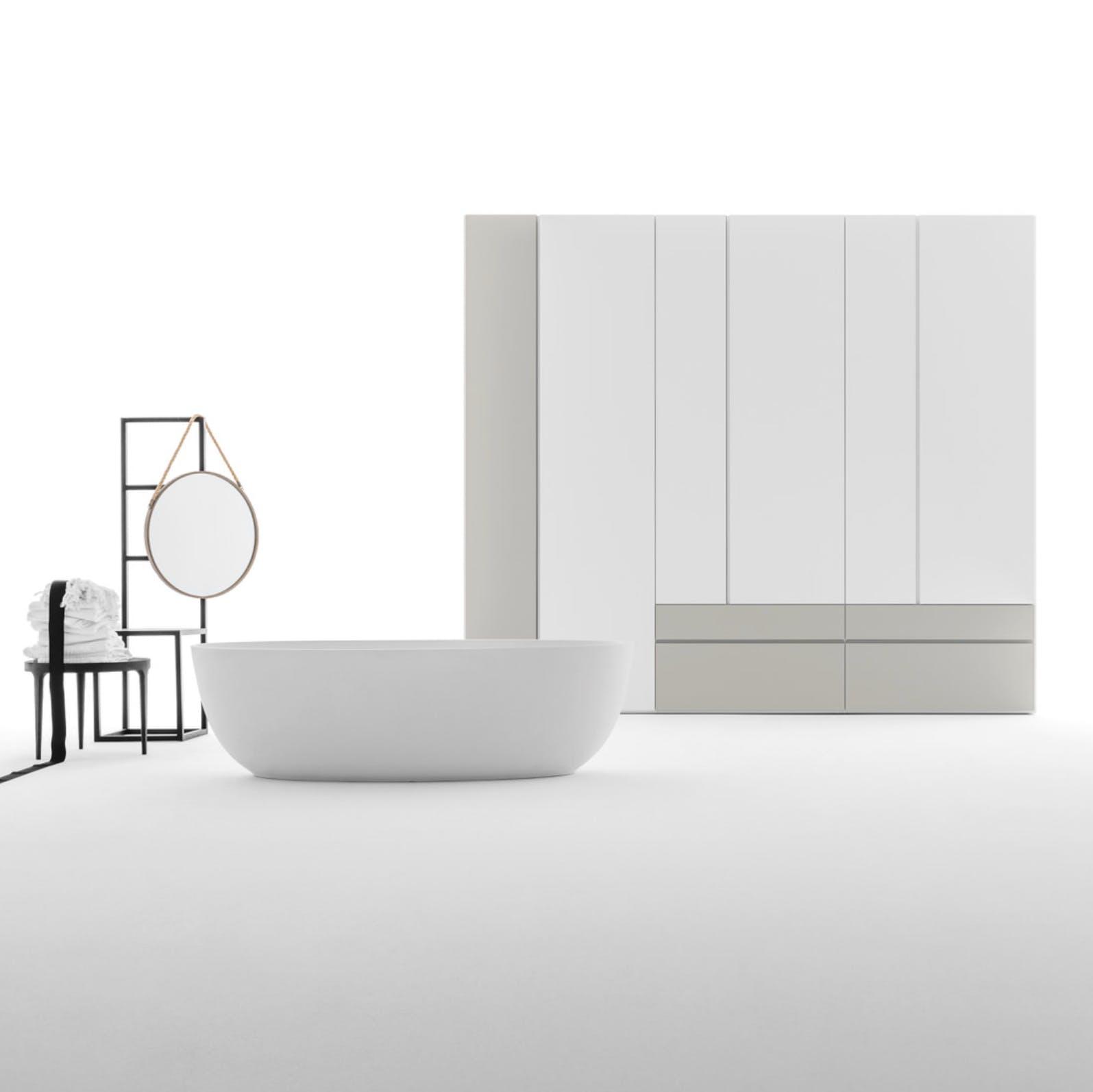 Caccaro Grafik Module White Haute Living