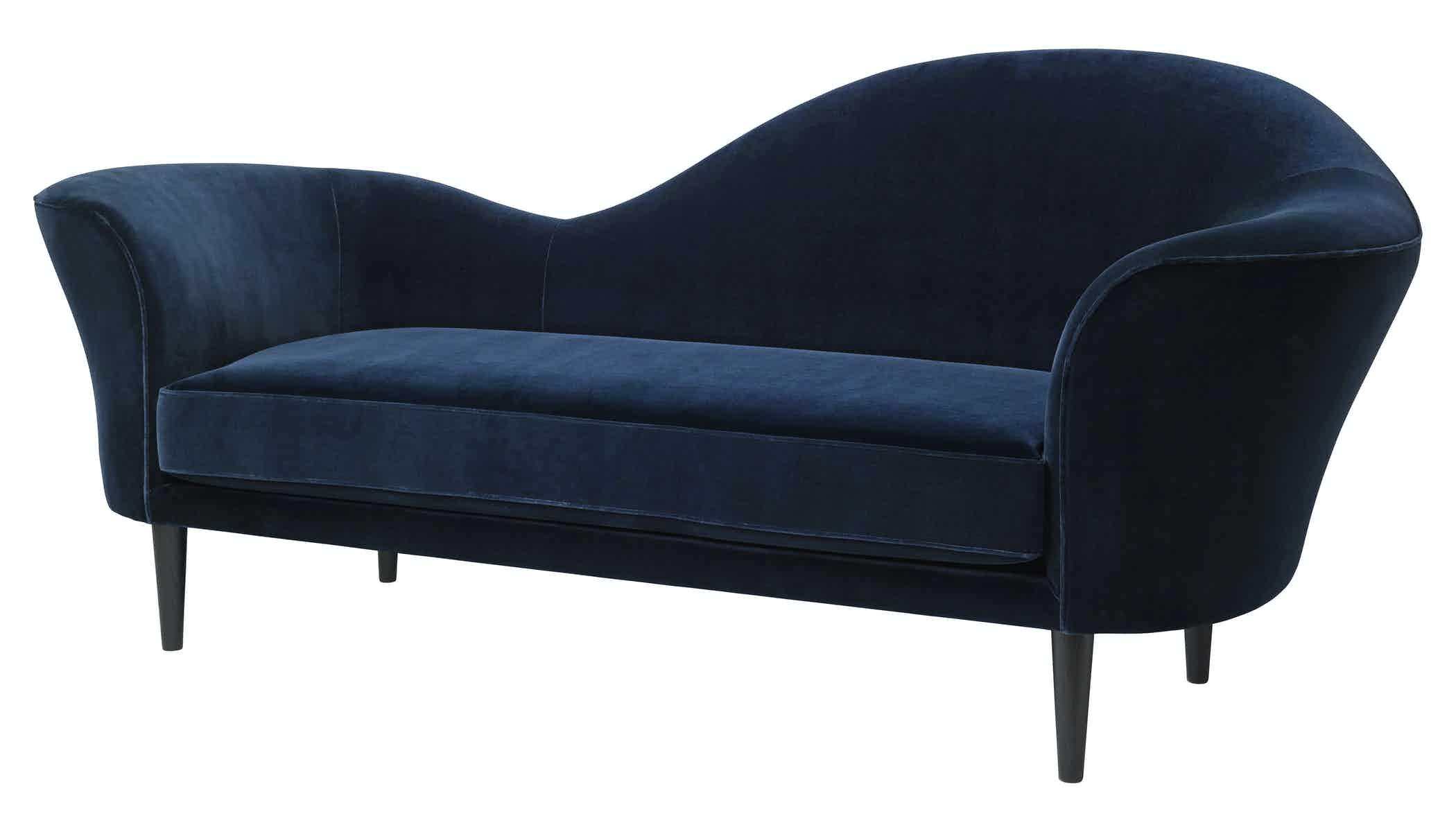 Gubi Grand Piano Sofa Blue Angle Thumb Haute Living