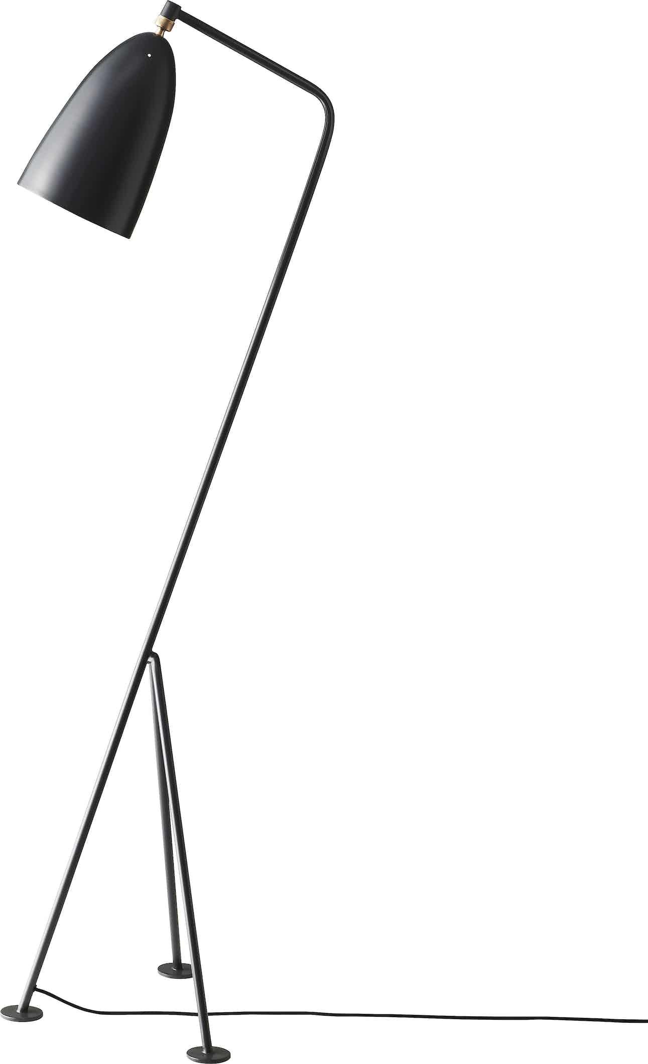 Gubi Grashoppa Floor Lamp Anthracite Grey Haute Living