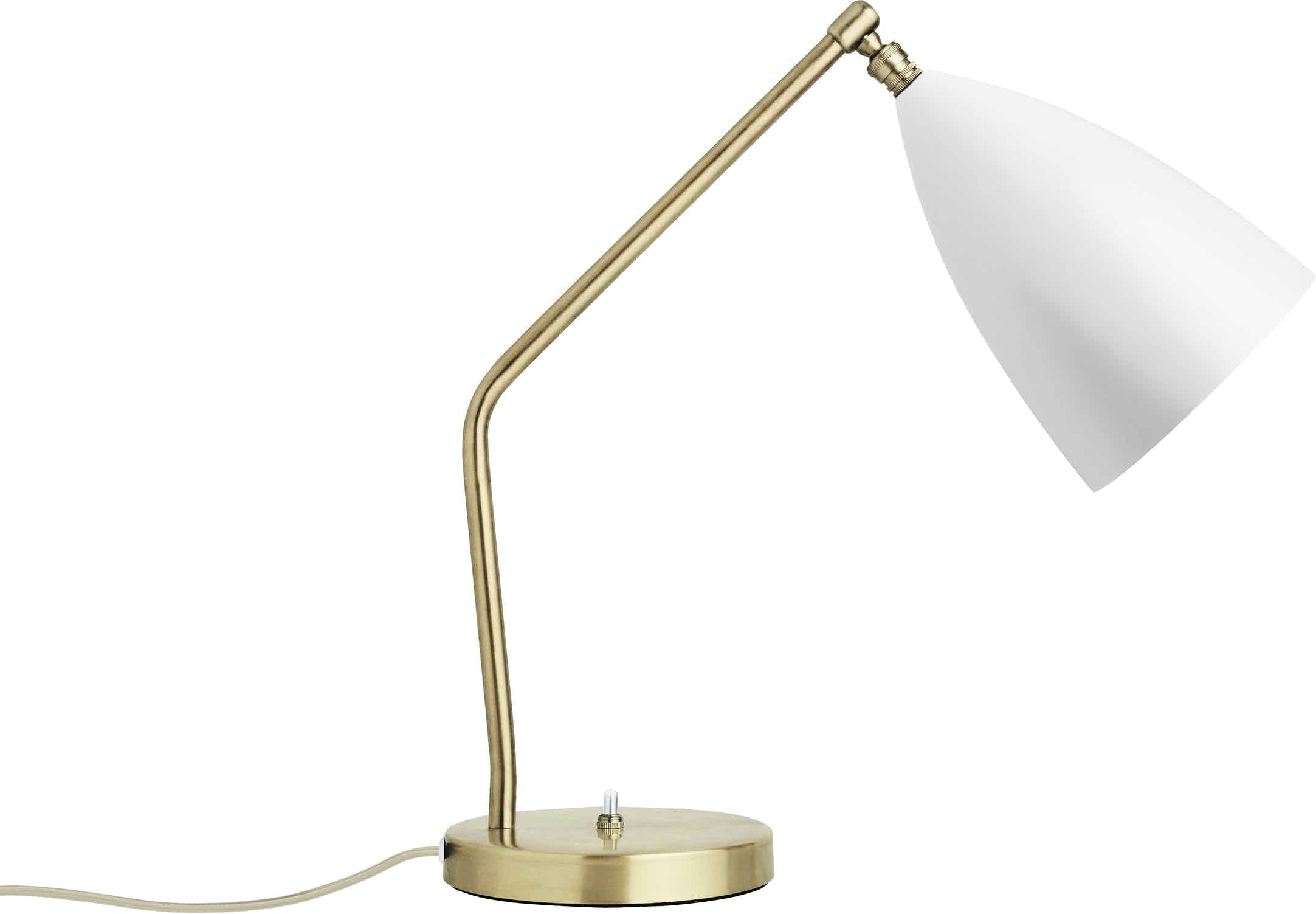 Gubi Grashoppa Table Lamp White Haute Living
