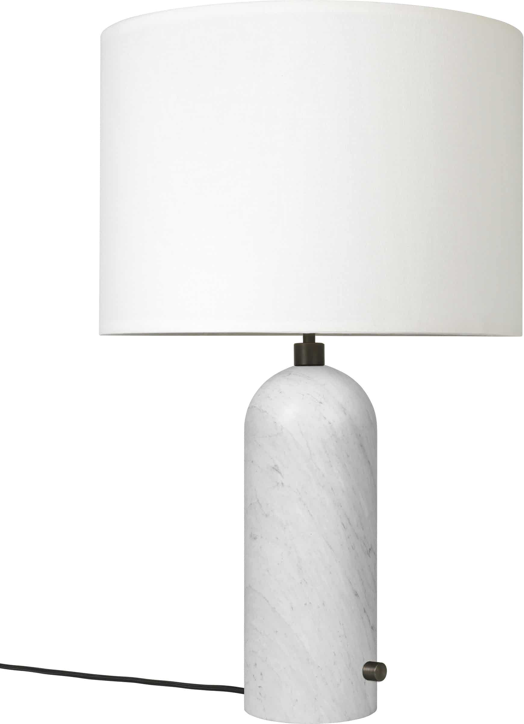 Gubi Gravity Table Lamp White Marble Haute Living