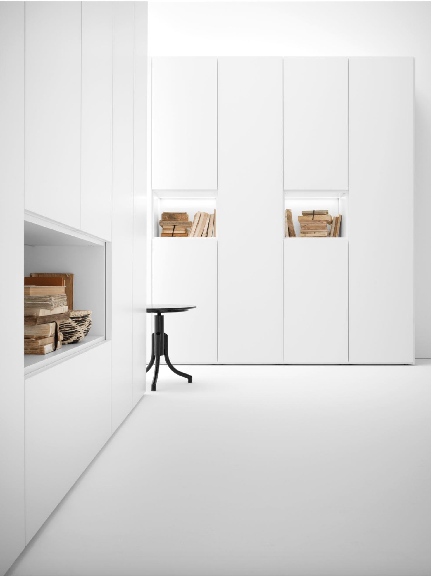 Caccaro Grid Module White Haute Living