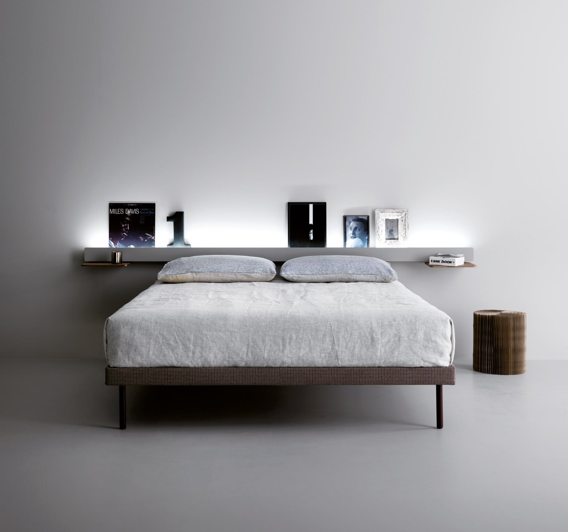 Caccaro Groove Bed Down Haute Living