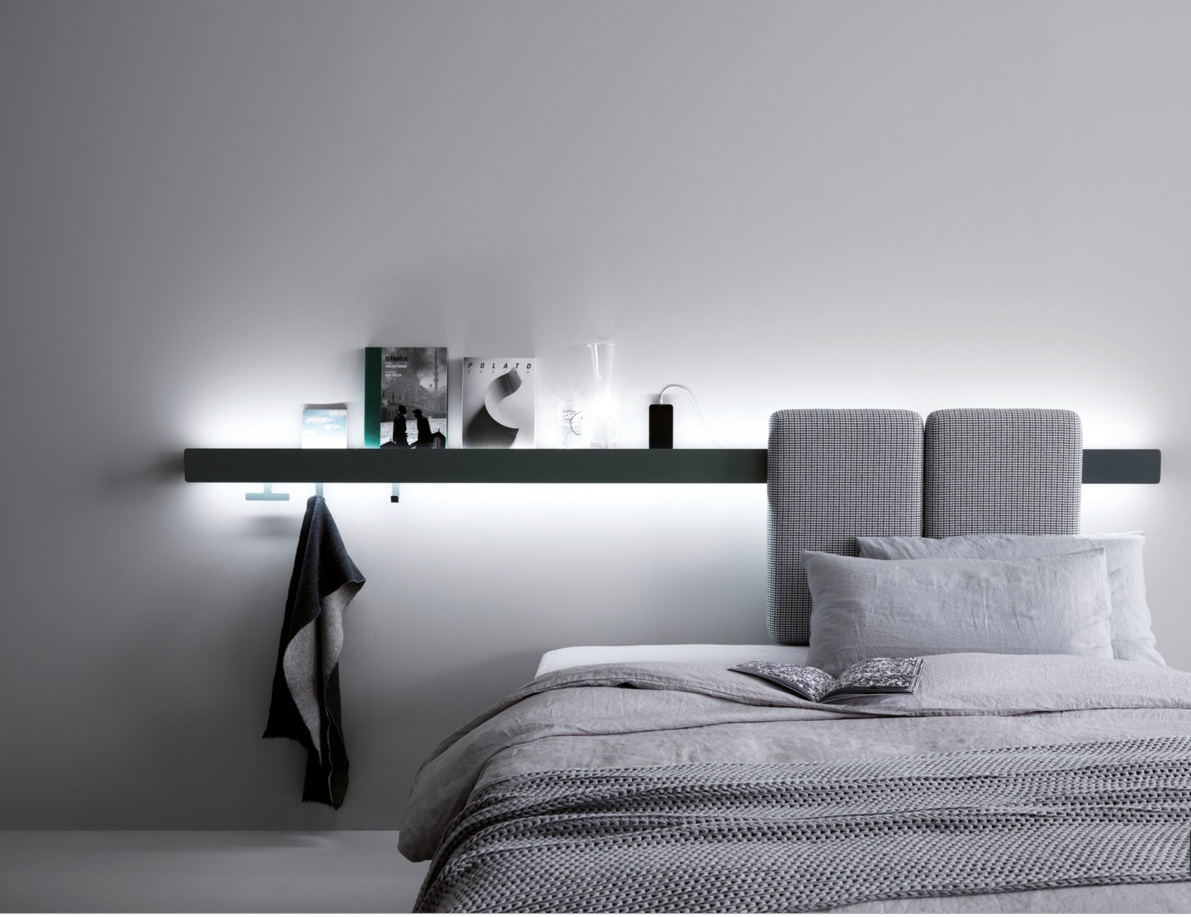 Caccaro Groove Bed Insitu Haute Living