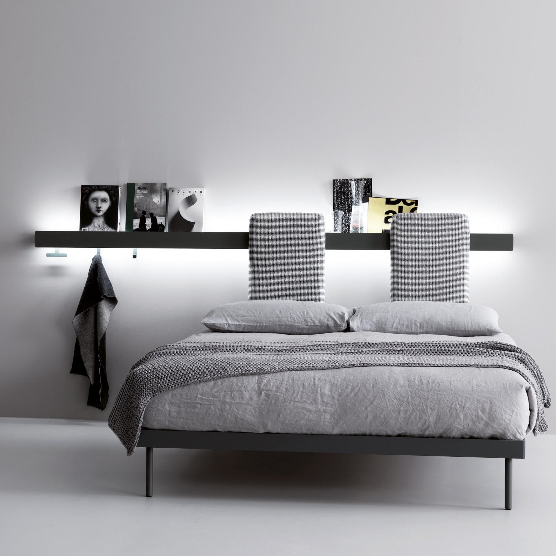 Caccaro Groove Bed Separate Haute Living