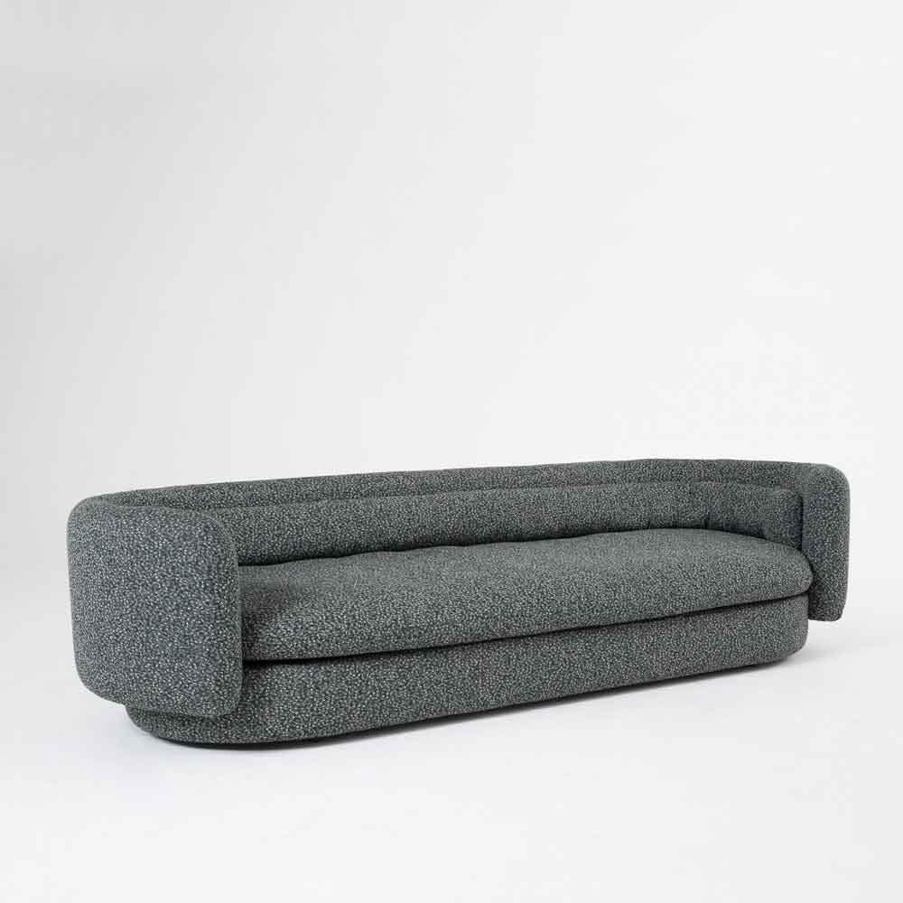 Scp Grey Group Sofa Angle