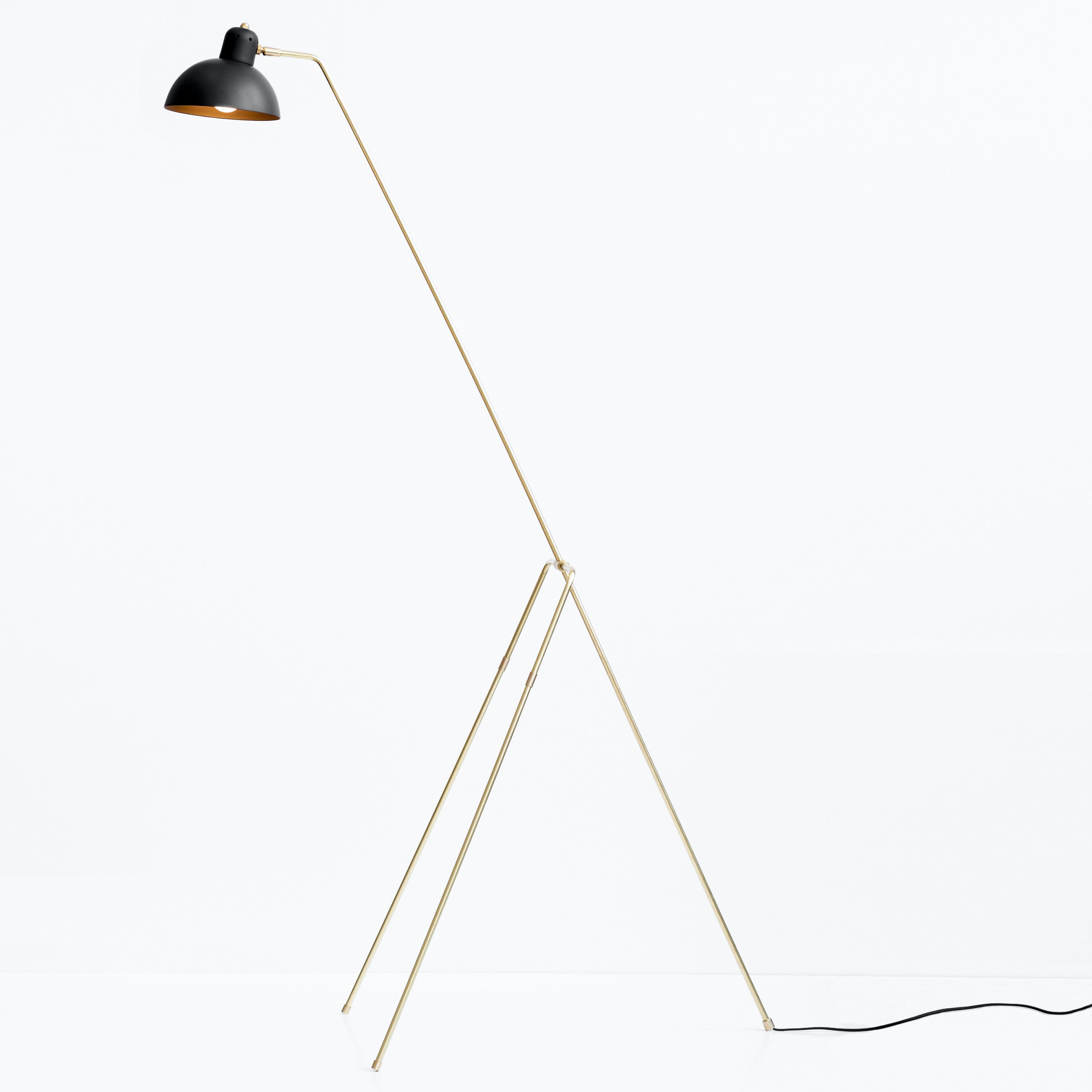 lambert et fils grue floor lamp haute living