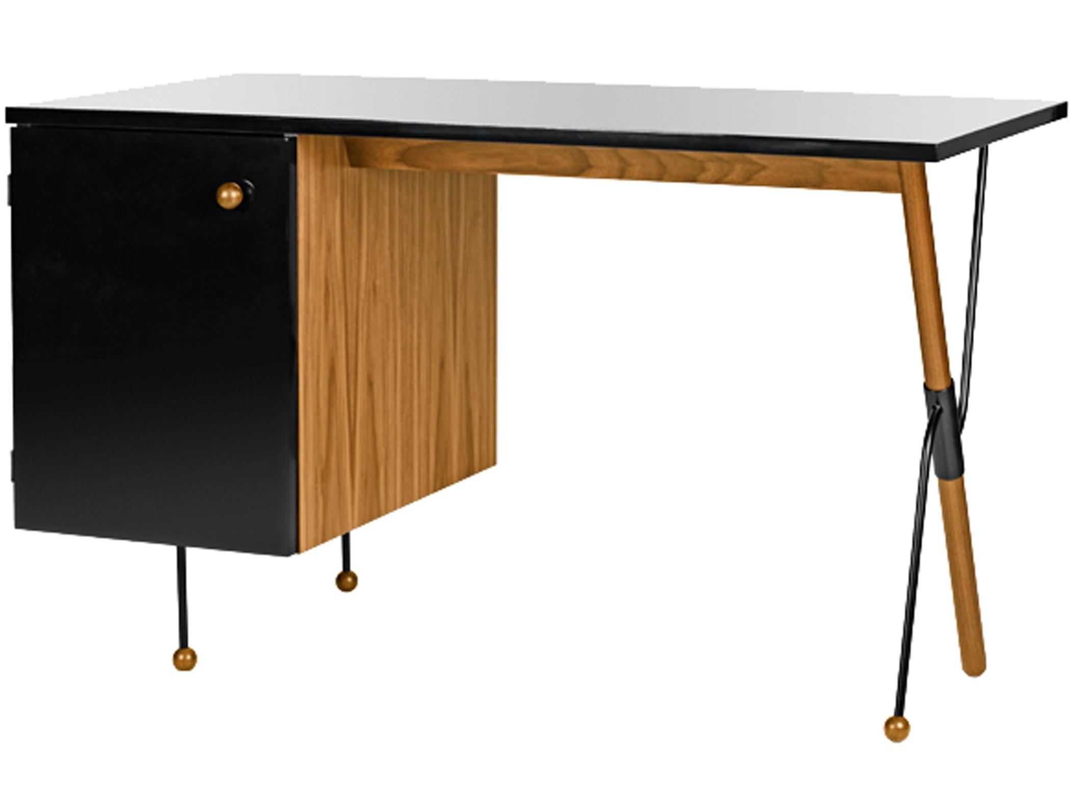 Grossman Desk Oak Front2 Product72Dpi