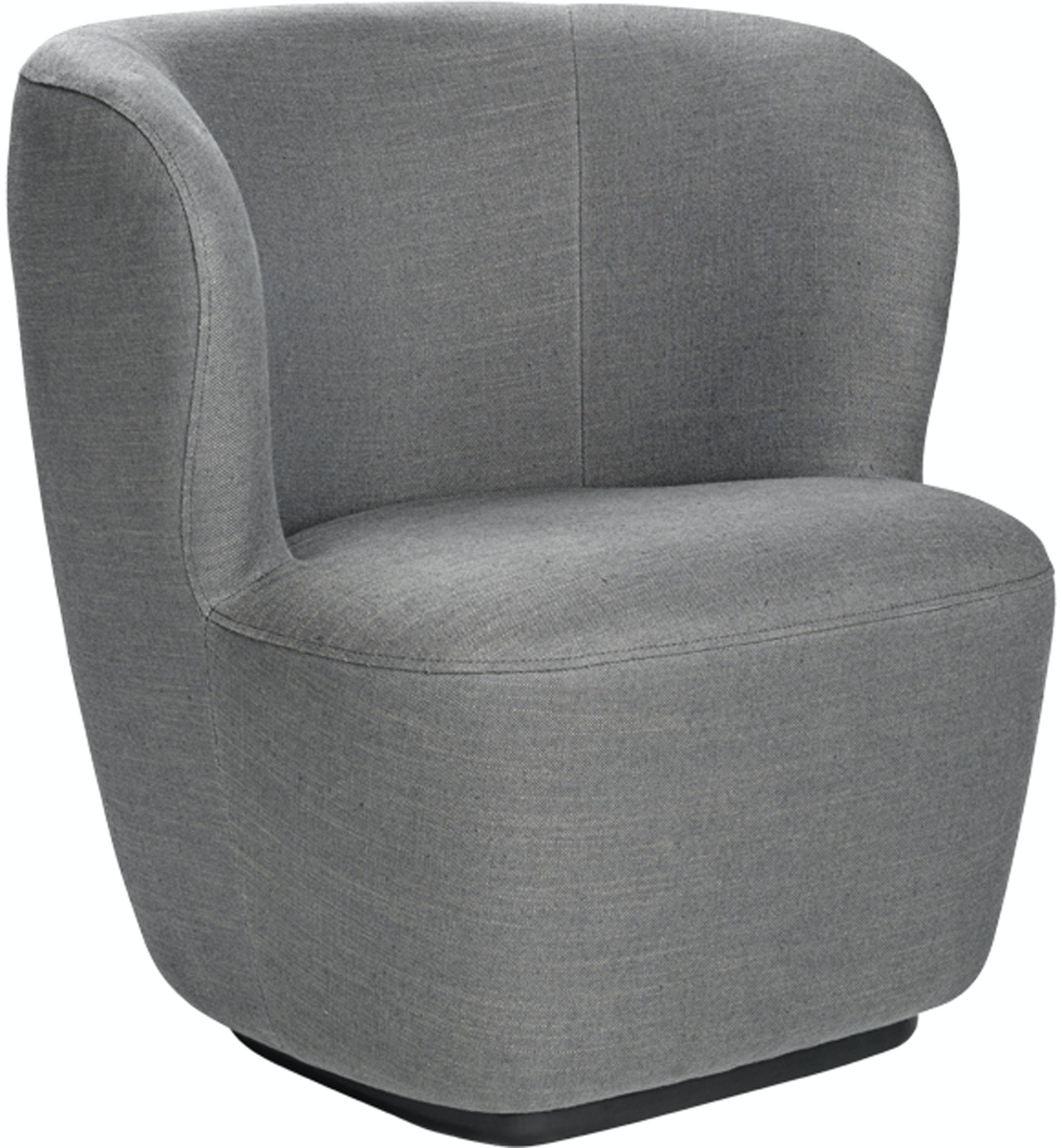 Stay Loungechair 75 Swivel Chambray 030 Angle Image