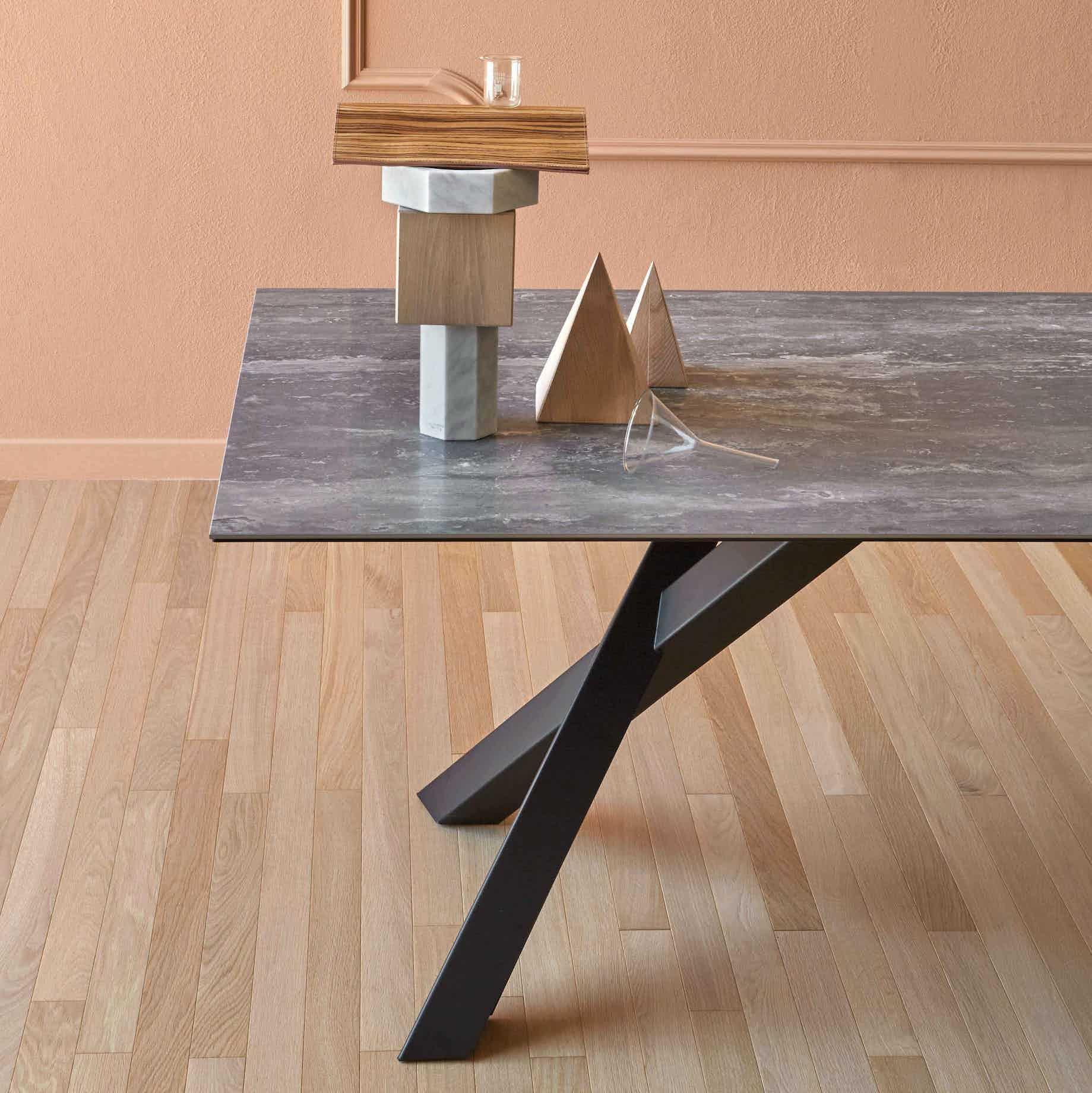 Miniforms Gustave Table Grey Half Haute Living