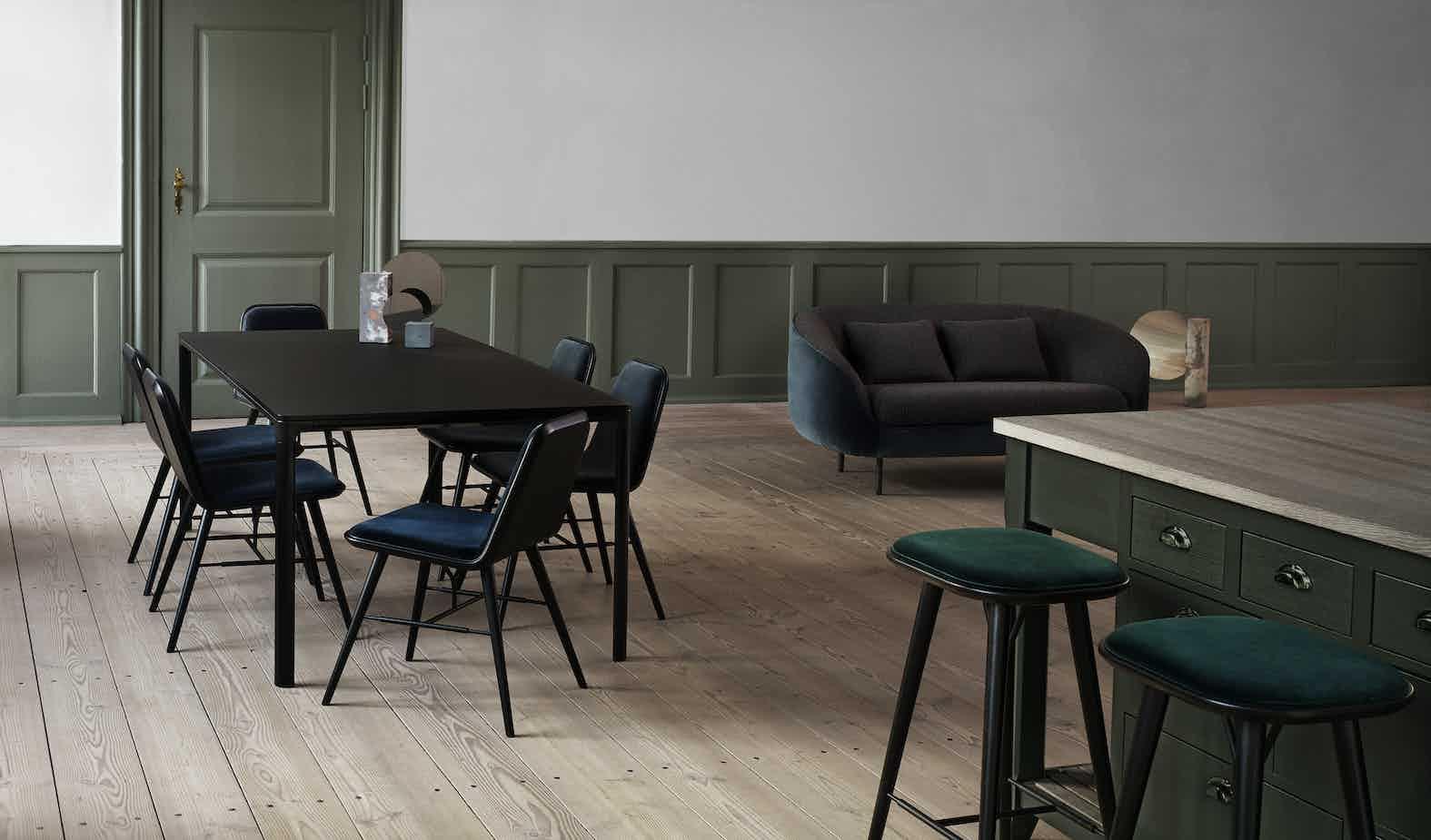 Fredericia Furniture Haiku 2 Seat Insitu Angle Haute Living