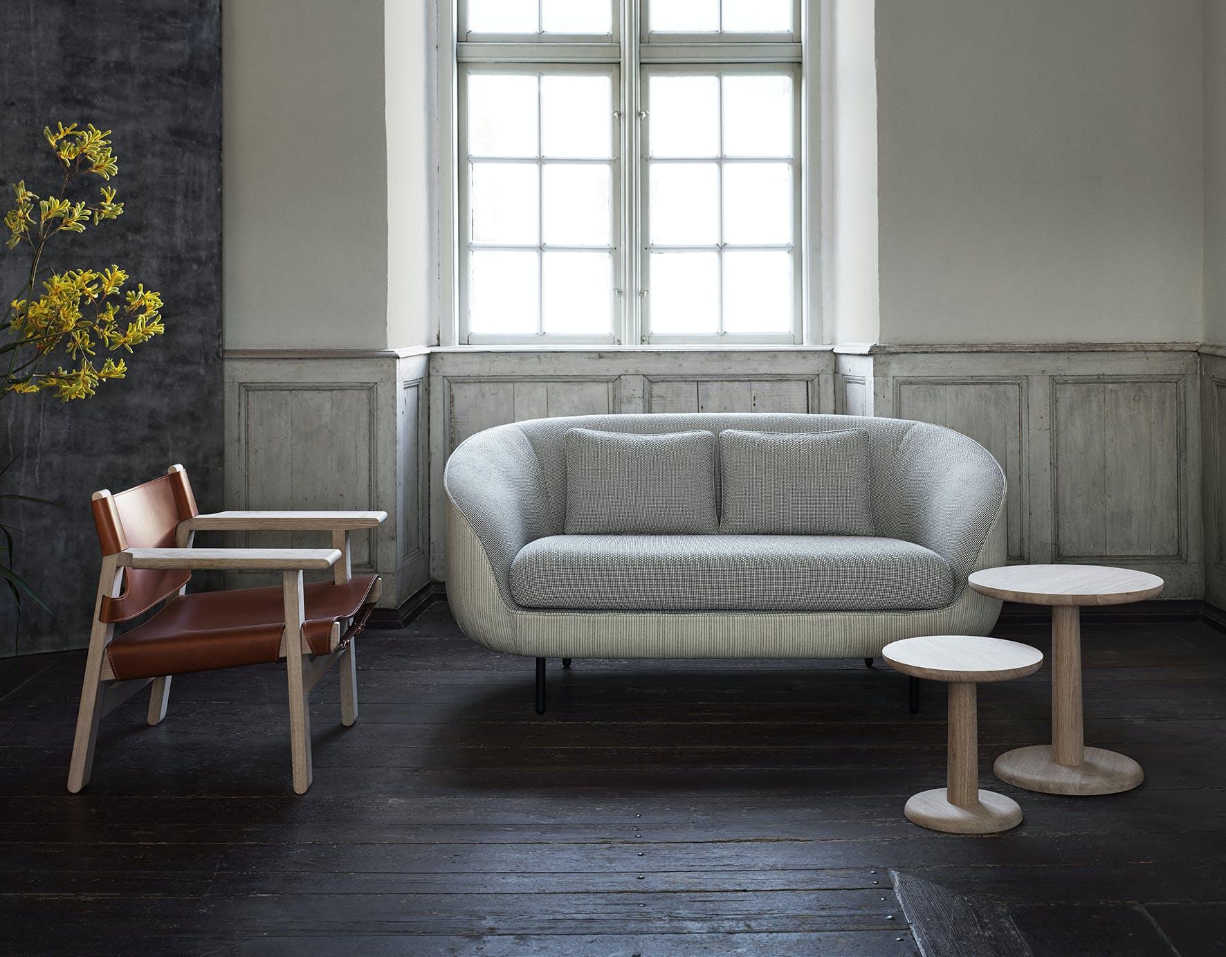 Fredericia Furniture Haiku 2 Seat Insitu Front Haute Living