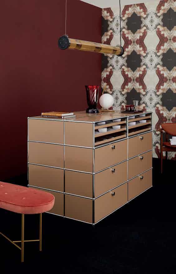 Usm haller modular storage system haute beige living
