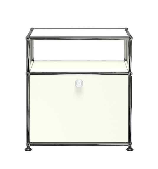 Usm-white-quick-ship-haller-modern-nightstand-haute-living