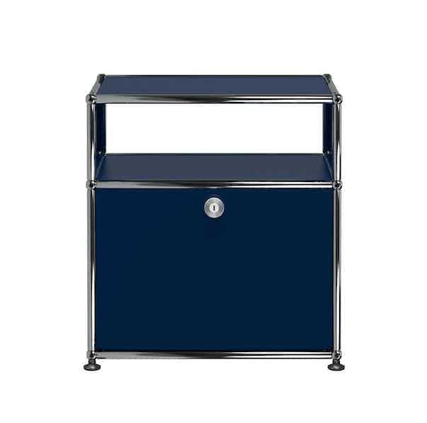 Usm-white-quick-ship-haller-modern-nightstand-steel-blue-haute-living