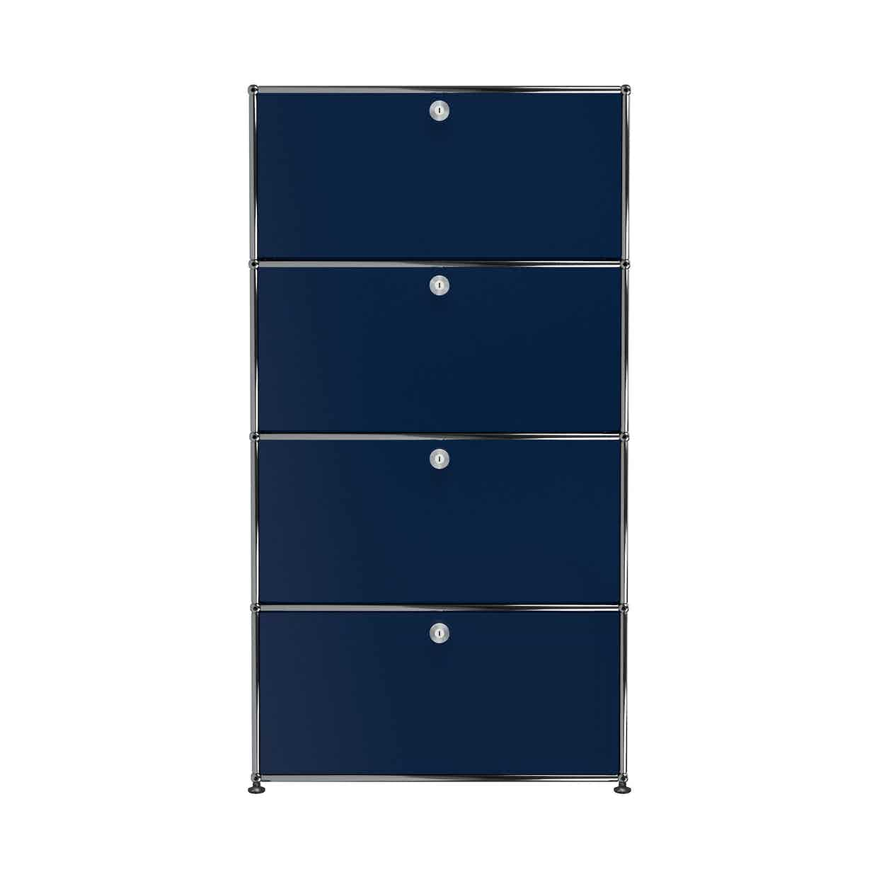 Usm-quick-ship-Haller-Storage-S118A-steel-blue-haute-living