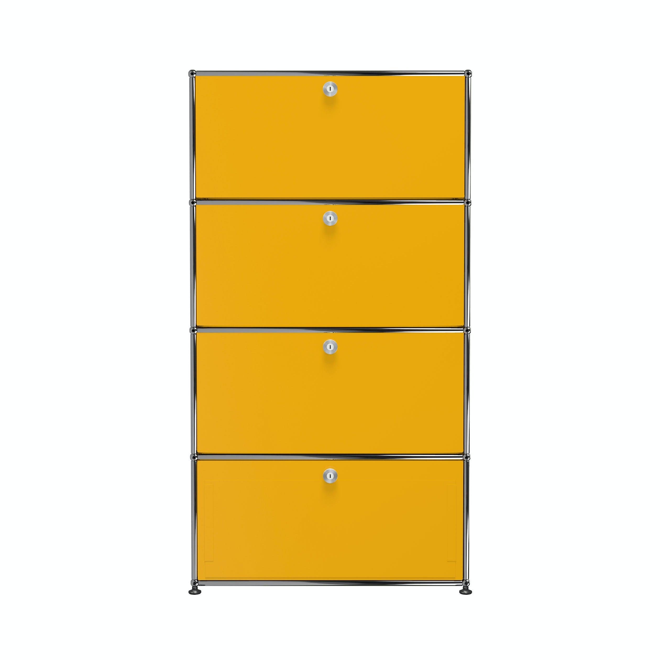 Usm-quick-ship-Haller-Storage-S118A-yellow-haute-living