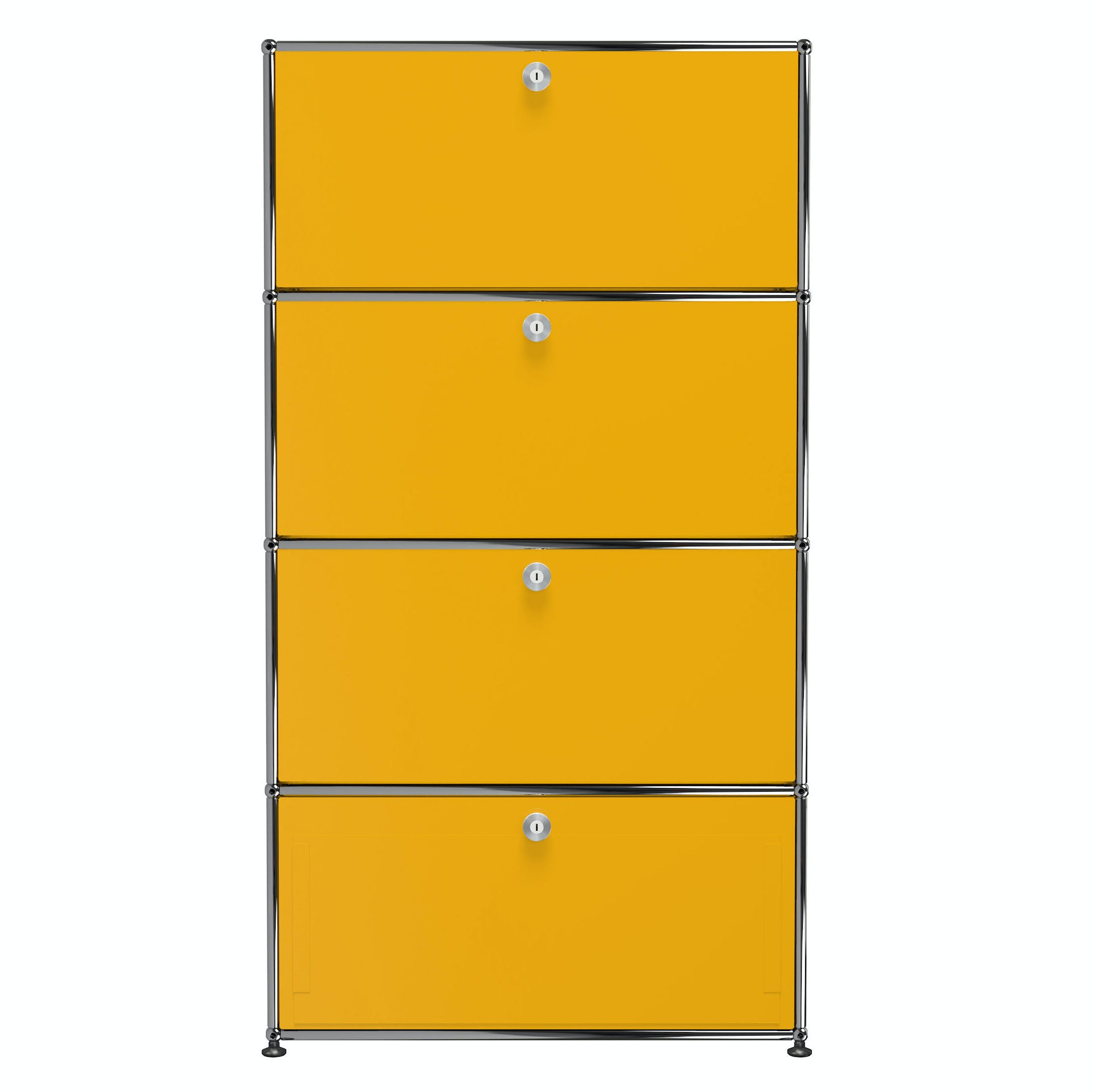 Usm-quick-ship-Haller-Storage-S118A-yellow-haute-living