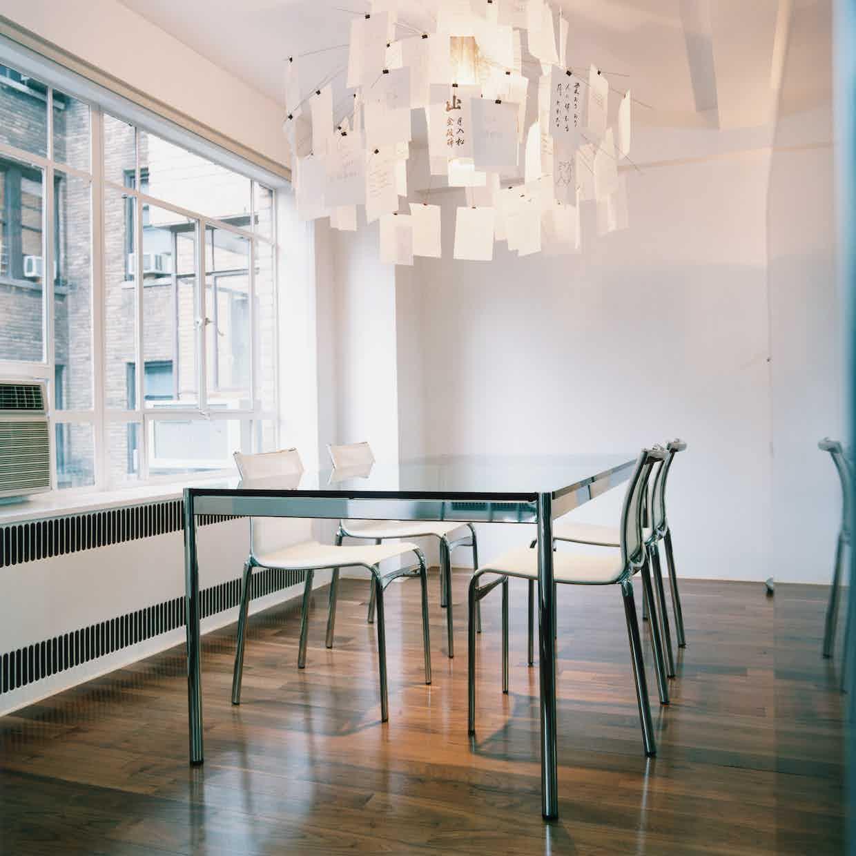 Usm haller table glass haute living