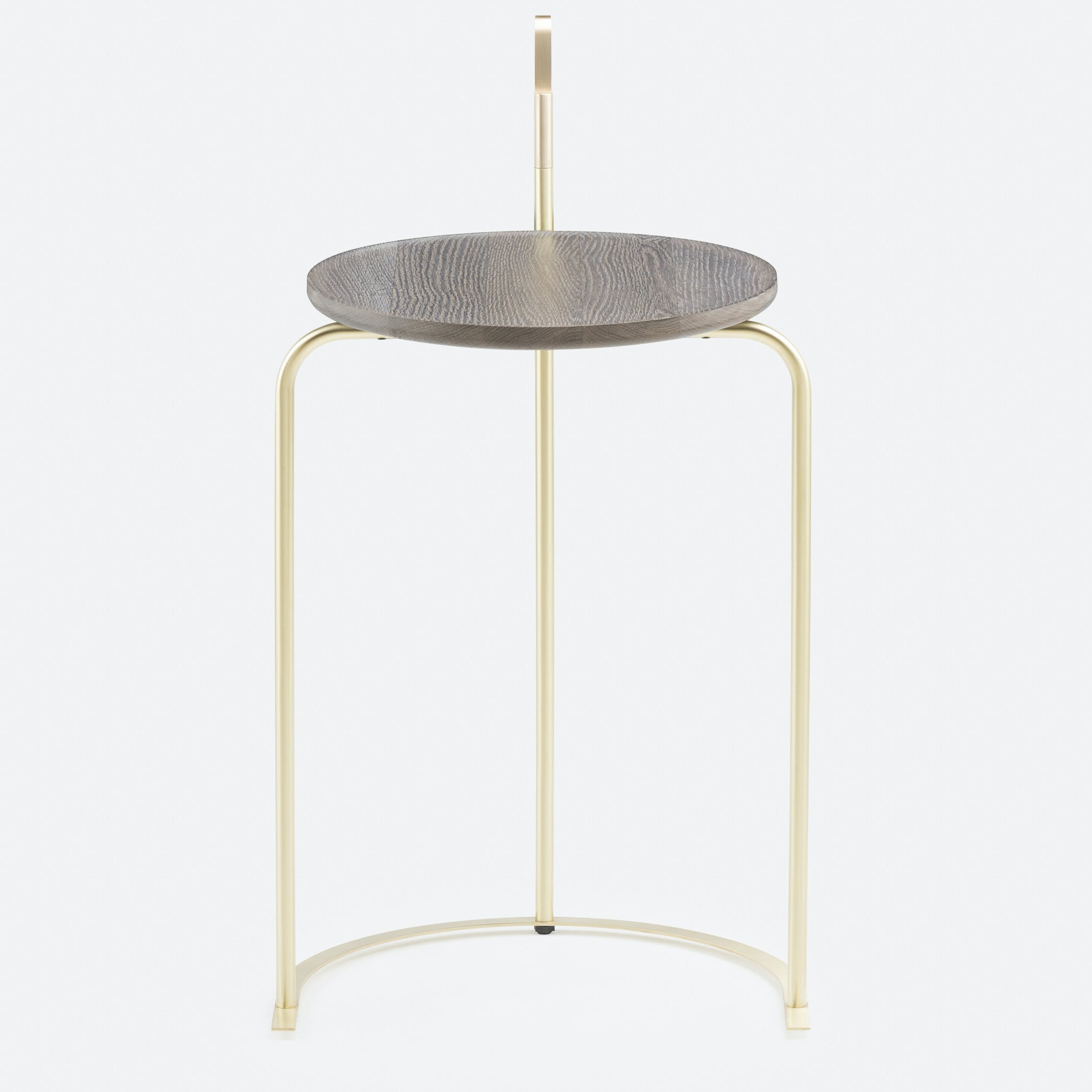 De La Espada Neri Hu Handle Side Table Front Haute Living