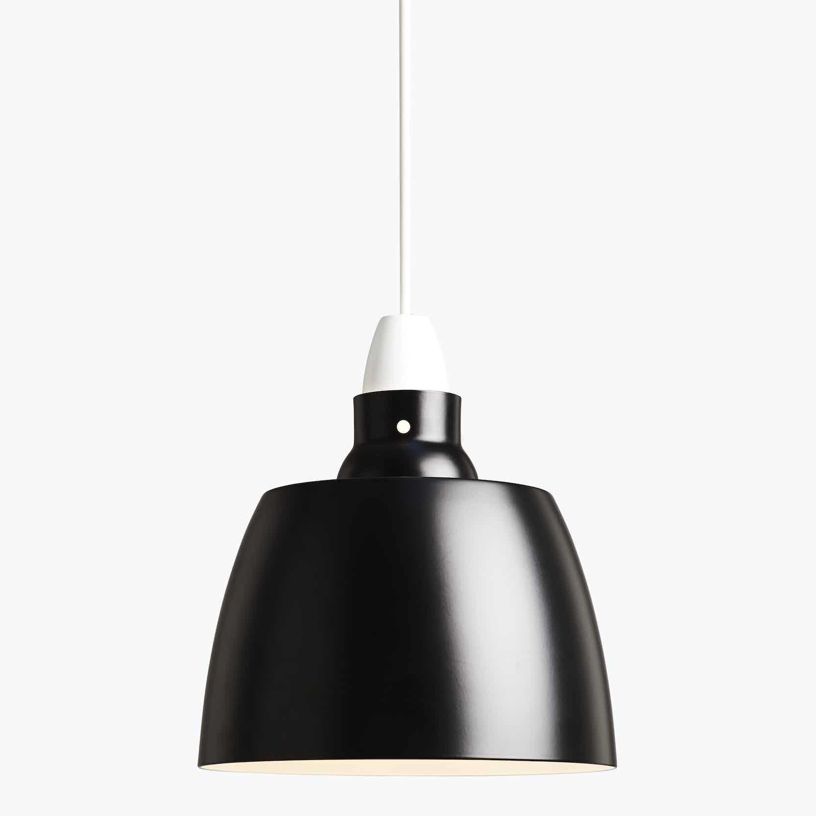 New works furniture hang on honey pendant jet black haute living