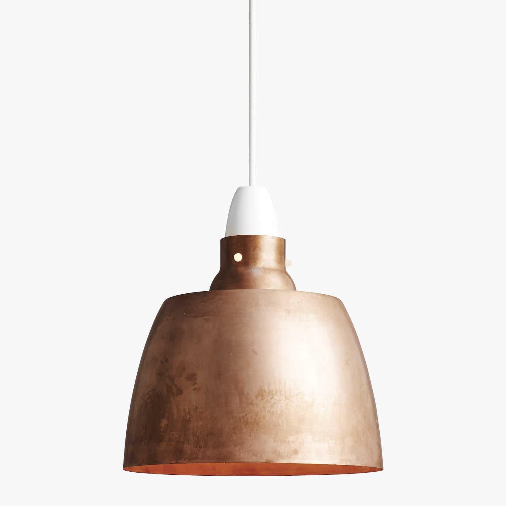 New works furniture hang on honey pendant old copper haute living