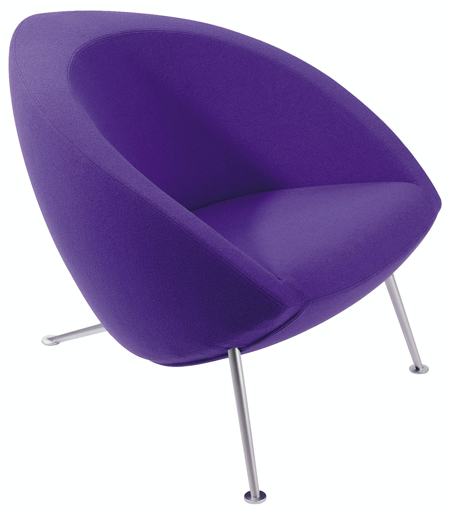 Artifort Purple Hanna Chair Thumbnail