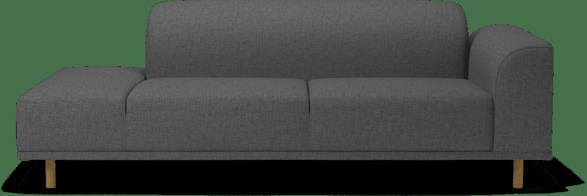 bolia grey hanna modular sofa haute living