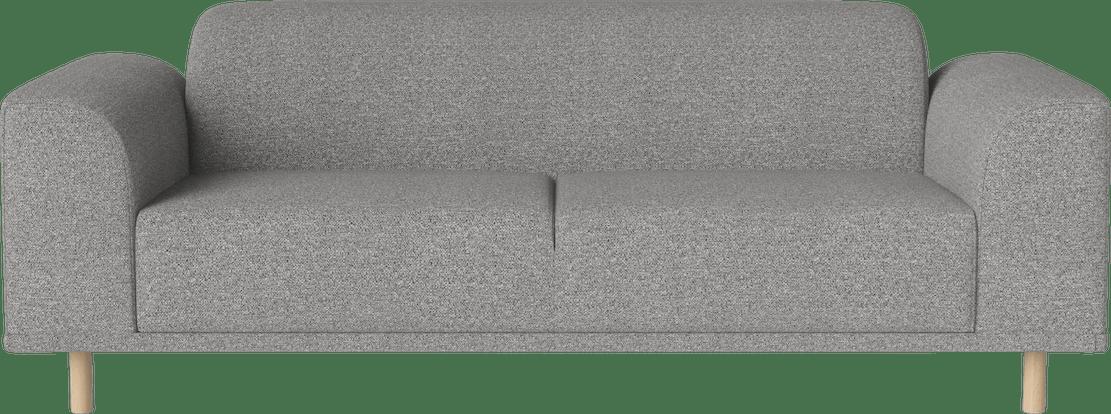 bolia grey hannah 2 seater sofa haute living