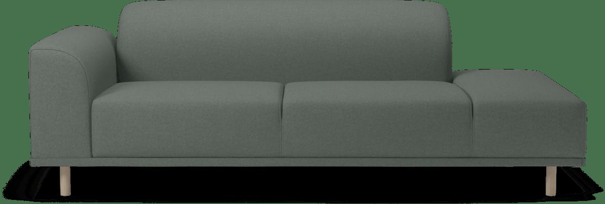 bolia green hannah modular sofa haute living
