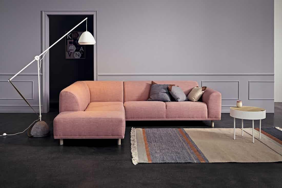Bolia Pink Modular Hannah Sofa Insitu Haute Living