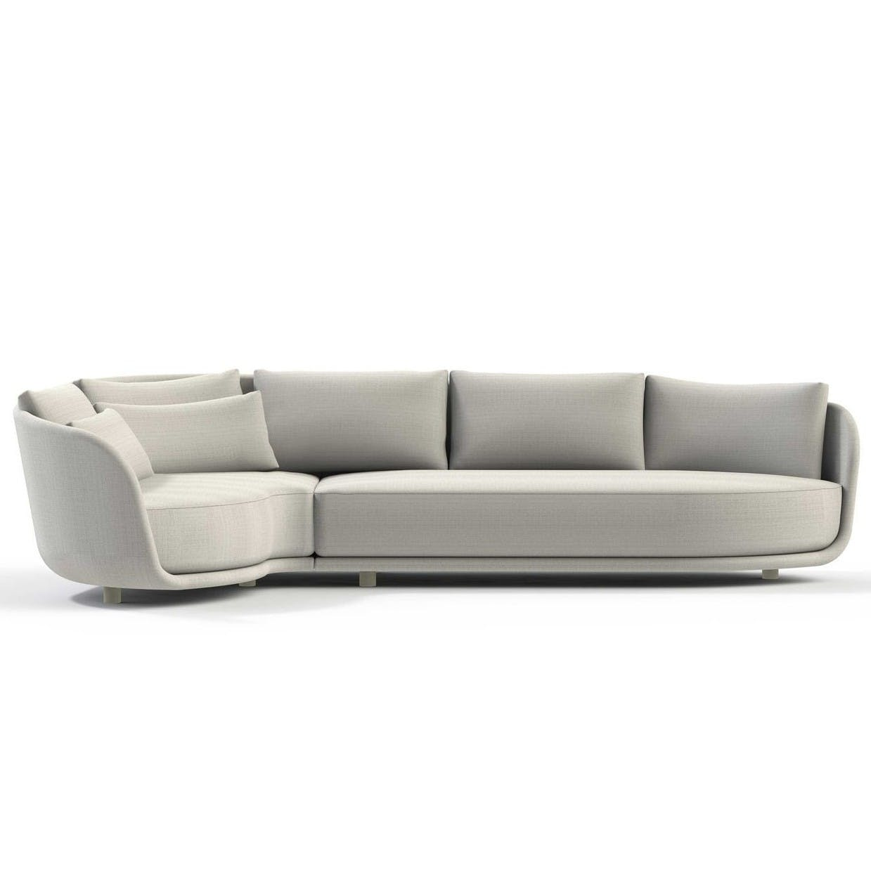 Linteloo Grey Heath Sofa Haute Living