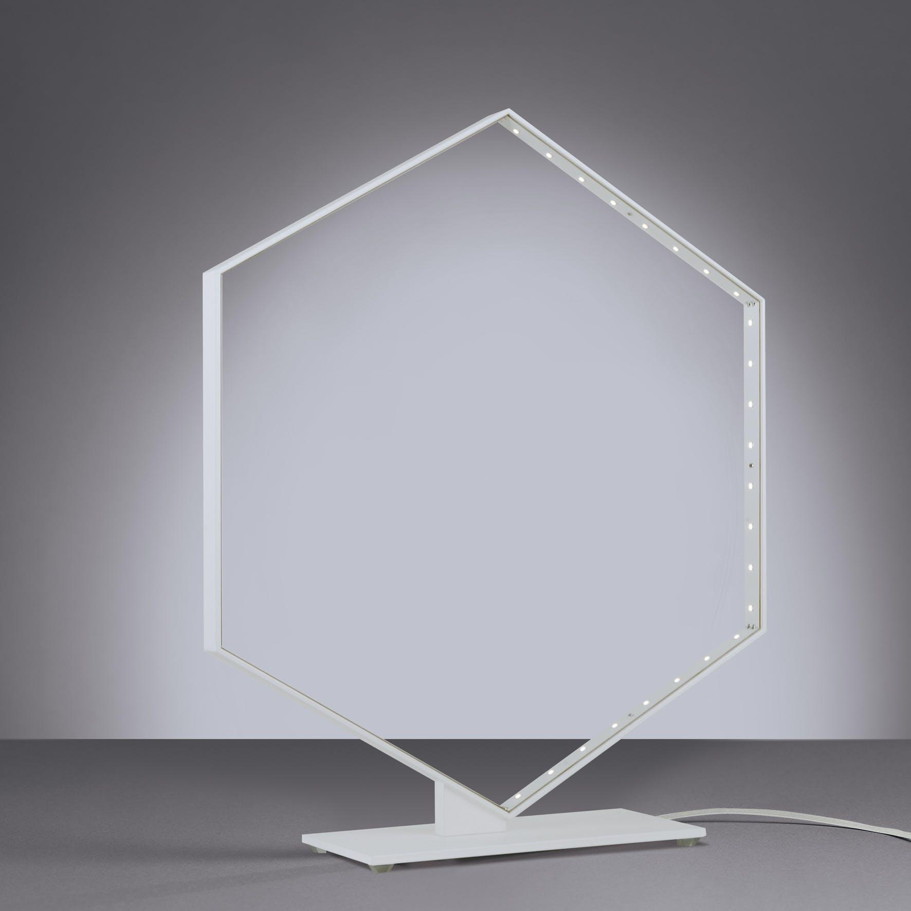 Hexa Table Blanc