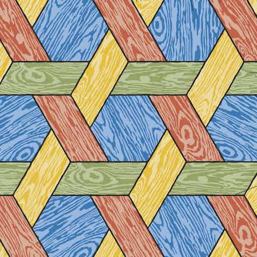 Moooi Carpets Hexagon Multi Detail Haute Living