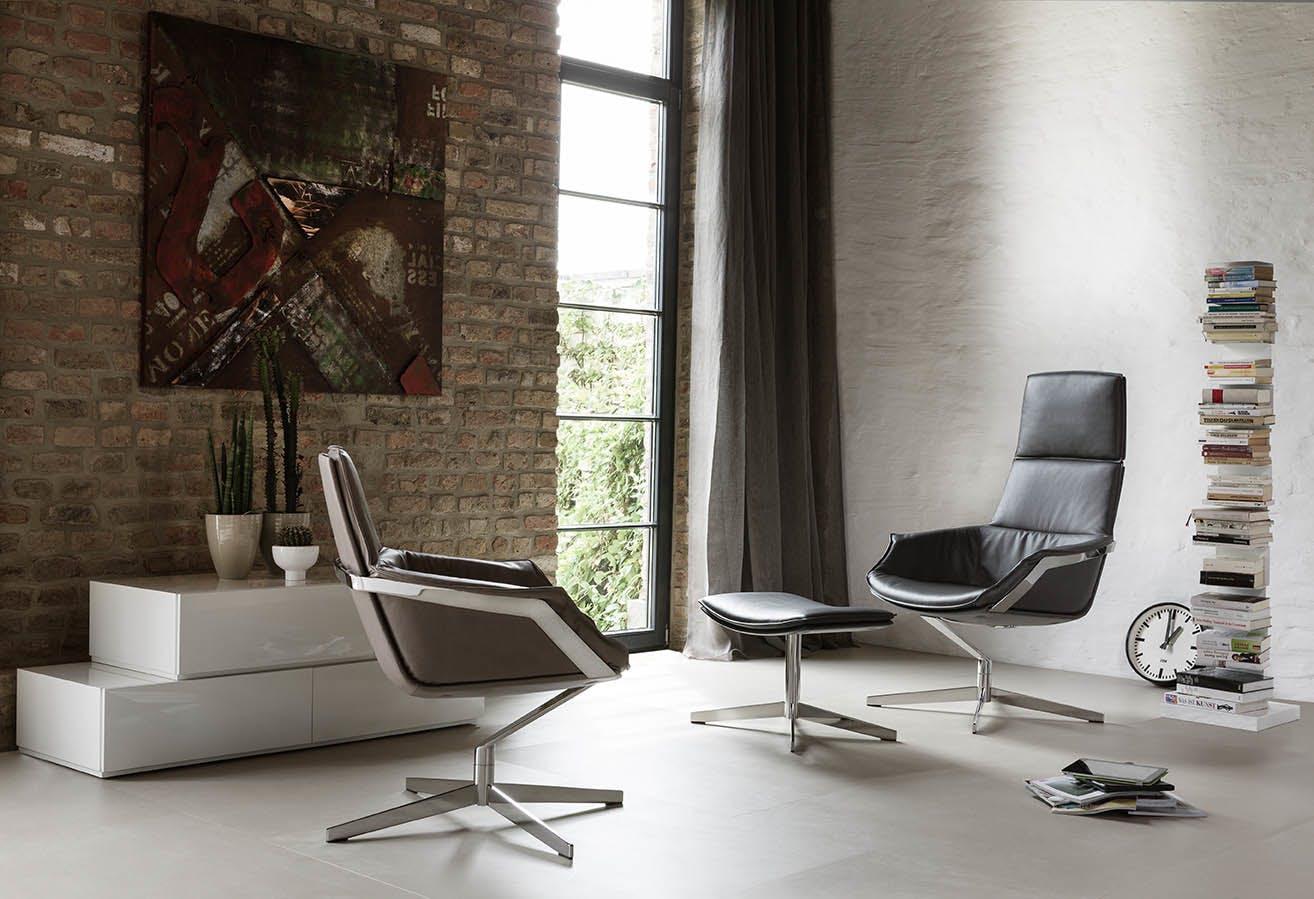 Jab Anstoetz Bond Armchairs Insitu Duo Haute Living