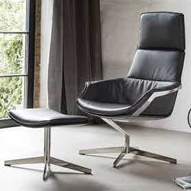 Jab Anstoetz High Back Bond Armchair Insitu Haute Living
