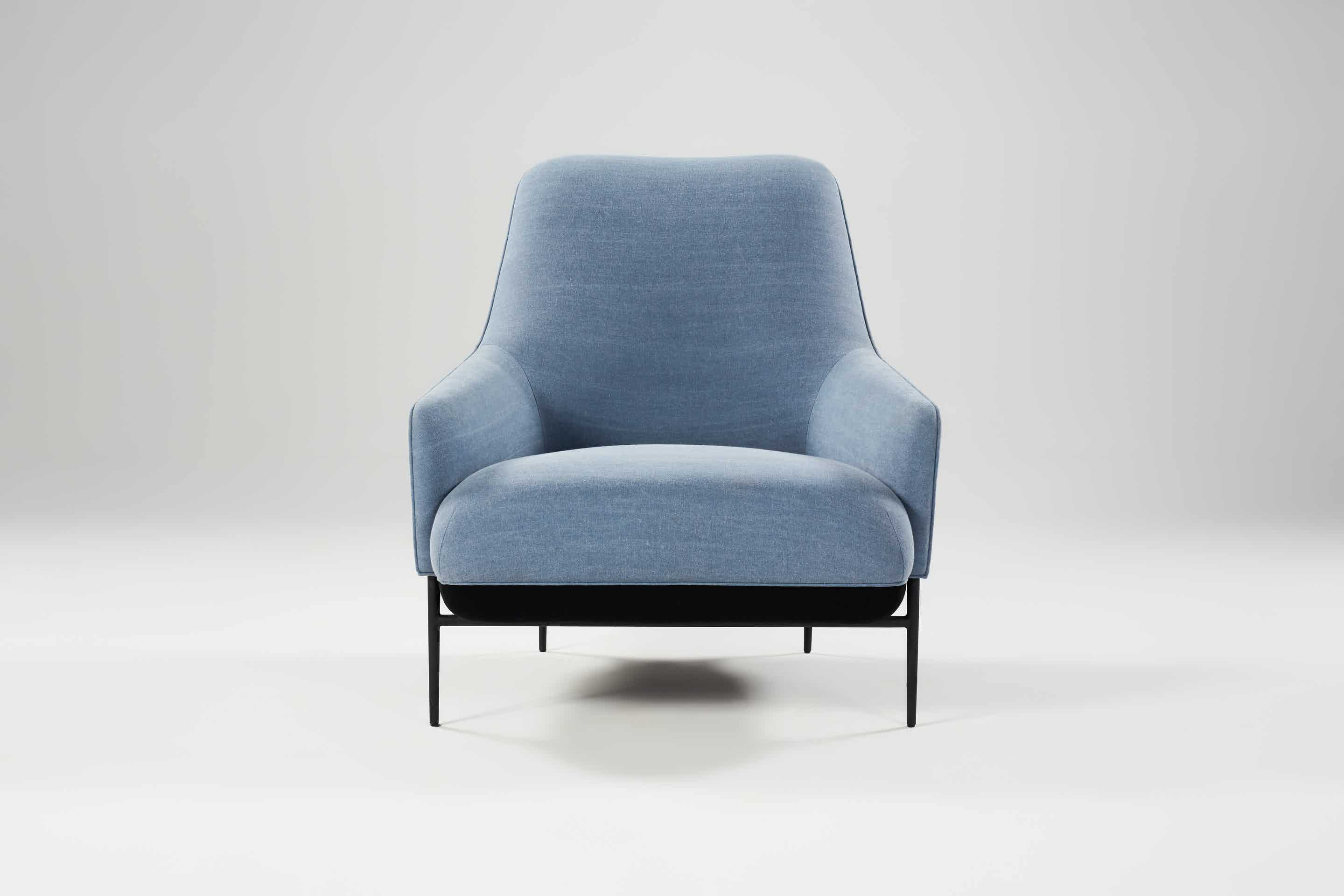 Wendelbo-high-back-chill-lounge-chair-blue-front-haute-living
