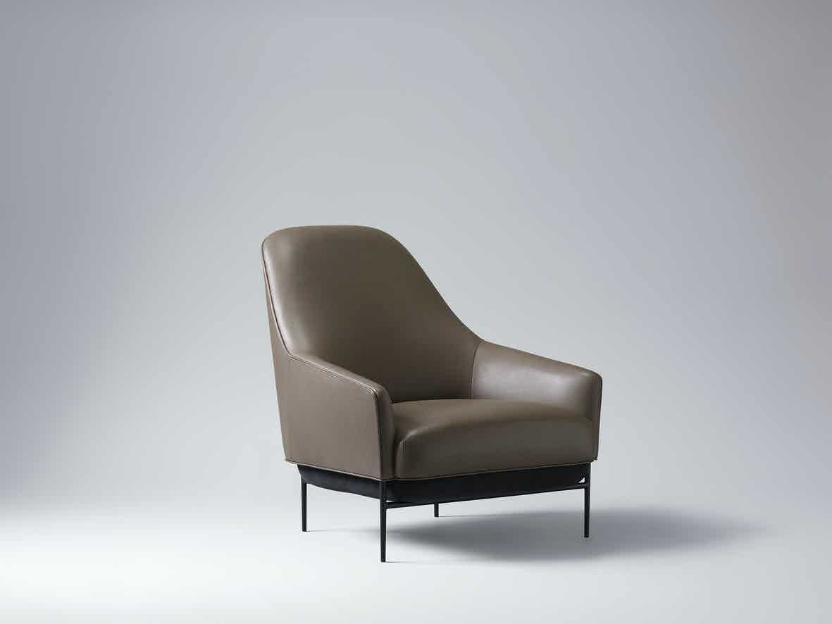 Wendelbo-high-back-chill-lounge-chair-brown-angle-haute-living
