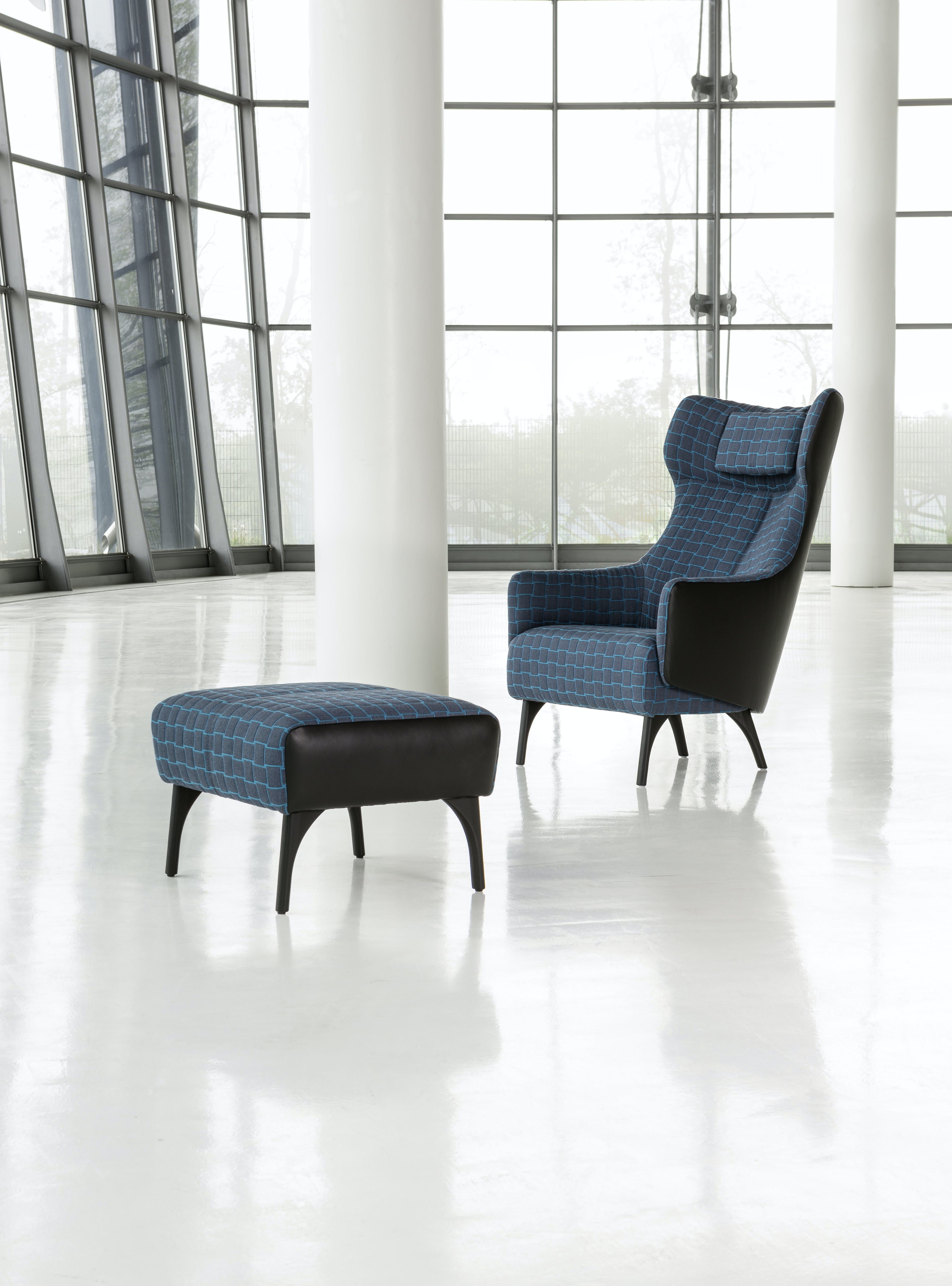 Jab Anstoetz Flow Armchair With Ottoman Haute Living