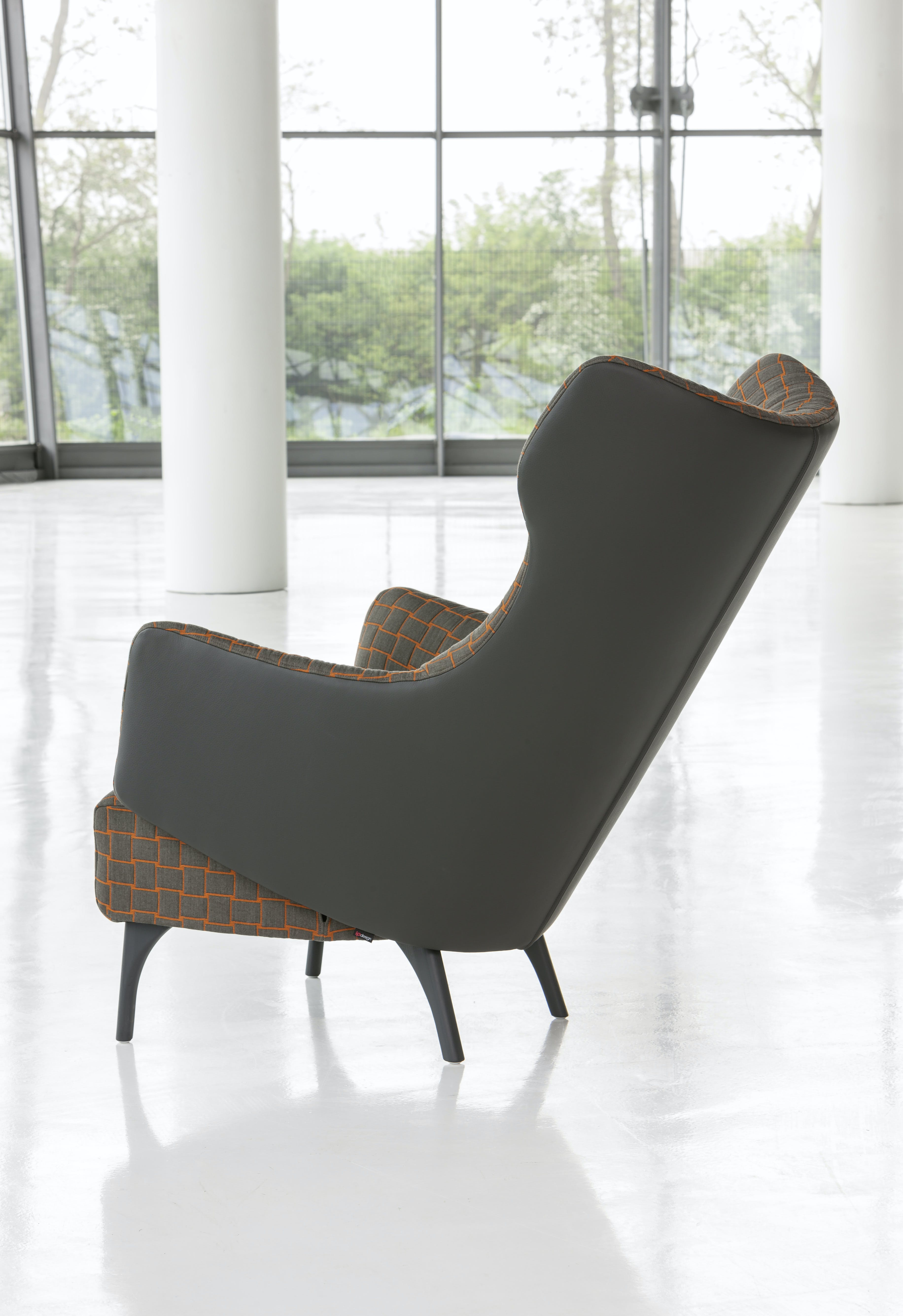 Jab Anstoetz Reclined Flow Armchair Back Haute Living