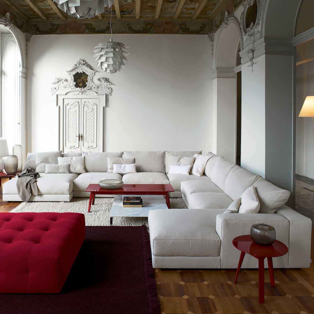 Swan furniture hills sofa corner haute living