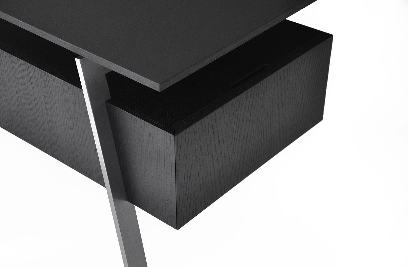 Bensen Black Drawer Homework Desk